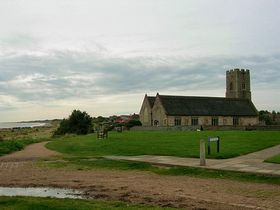 Pakefield's Church Sits Produly on the Clifftops