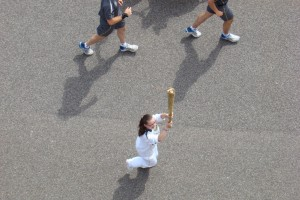 Torch Relay Ignites Olympic Fever